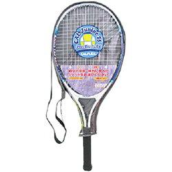 カルフレックス(CALFLEX)ジュニア用テニスラケットホワイト/ブルーCAL-25III【硬式テニスラケット張り上げ済みハーフカバー付き部活TEG】【JTR】