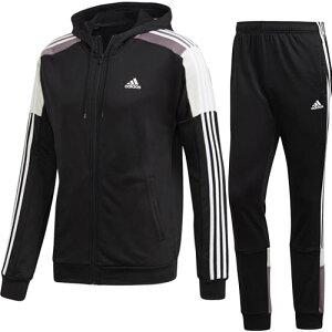アディダス adidas メンズ トラックスーツ Sport ブラック/ホワイト GLF60 FL3631
