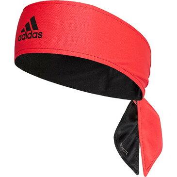 アディダス adidas メンズ レディース テニス ヘッドバンド TENNIS TIE BAND REV ブラック/ショックレッド/ホワイト DUR59 DU8457