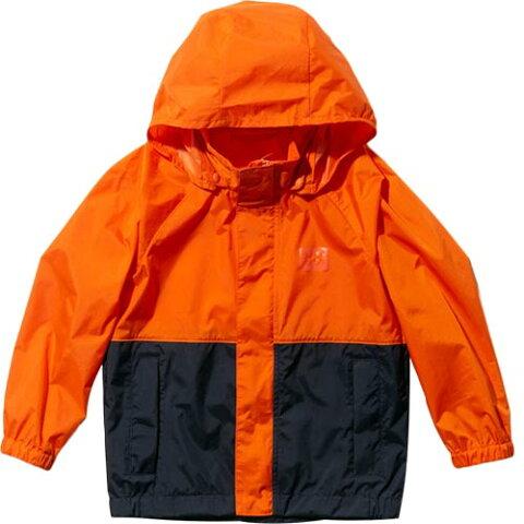 ヘリーハンセン HELLY HANSEN キッズ サンレイン ジャケット K Sun+Rain Jacket ネーブルオレンジ HOJ11911 NO ジュニア