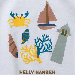 ヘリーハンセンHELLYHANSENキッズショートスリーブマリングラフィックティーKS/SMarineGraphicTeeホワイトHJ61905Wジュニア