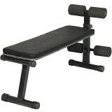 リーディングエッジ マルチシットアップベンチ フラットベンチ 兼用 腹筋台 トレーニングベンチ LE-B40