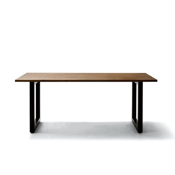 MASTERWAL ワイルドウッドダイニングテーブル T26 D845mm(スチールレッグス/ウォールナット)(W1000〜2400)【マスターウォール wildwooddiningtable steellegs 無垢材 オイルフィニッシュ アカセ木工 正規販売店 送料無料】