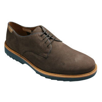 [Clarks] plane toe, FULHAM WALK of super light weight sole playing an active part from a dress to casual clothes, 024E (dark brown nubuck) 20355016