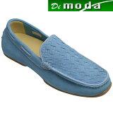 【REGAL (リーガル)】甲メッシュのスエードドライビングシューズ(ヴァンプ)・54KR(ブルースエード)/メンズ 靴