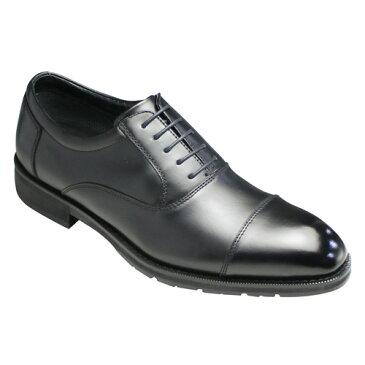 【madras Walk(マドラス ウォーク)】GORE-TEX(ゴアテックス)搭載の全天候型ビジネスシューズ(ストレートチップ)・MW5601(ブラック)/メンズ 靴