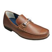 【REGAL(リーガル)】ドライビングとしても活躍する牛革ビジカジスリッポン(ビット)・57HR(ブラウン)/メンズ 靴