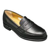 【REGAL (リーガル)】トラッドの定番!スコッチ型押しのビジネスシューズ(ローファー)・JJ16(スコッチブラック)/メンズ 靴
