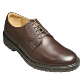 【REGAL WALKER(リーガルウォーカー)】3E(幅広)撥水加工・牛革タウンウォーキングシューズ(プレーントゥ)・101w (ダークブラウン)/メンズ 靴