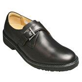 【REGAL WALKER(リーガルウォーカー)】3E(幅広)撥水加工・牛革タウンウォーキングシューズ(サイドモンク)・103w (ブラック)/メンズ 靴