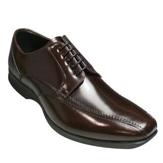 Lightweight leather business shoes (sworrtu) 833-R (dark brown)