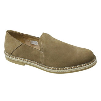 Cowhide espadrille (slip-ons), 56DR (beige suede) fs3gm where I wear it for a barefoot sense, and the feeling is good
