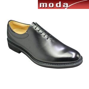 リーガルウォーカー ビジネスシューズ ホールカット ポインテッドトゥ 306W ブラック REGAL メンズ 靴