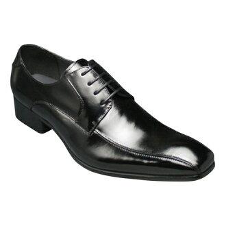 [SARABANDE (sarabande)] European elegance drifting cowhide long nose business shoes (swirl Mocha), SB7771 (black) [easy ギフ _ packing]