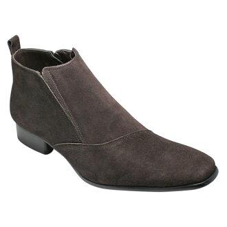引誘皮靴 (一側流),SB7777 的有機線 (棕色絨面革)