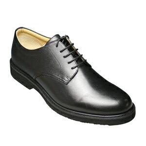 【WALKERS-MATE(ウォーカーズ・メイト)】牛革多機能コンフォートビジネスシューズ・レース(プレーントゥ)MW6500(ブラック)/メンズ 靴