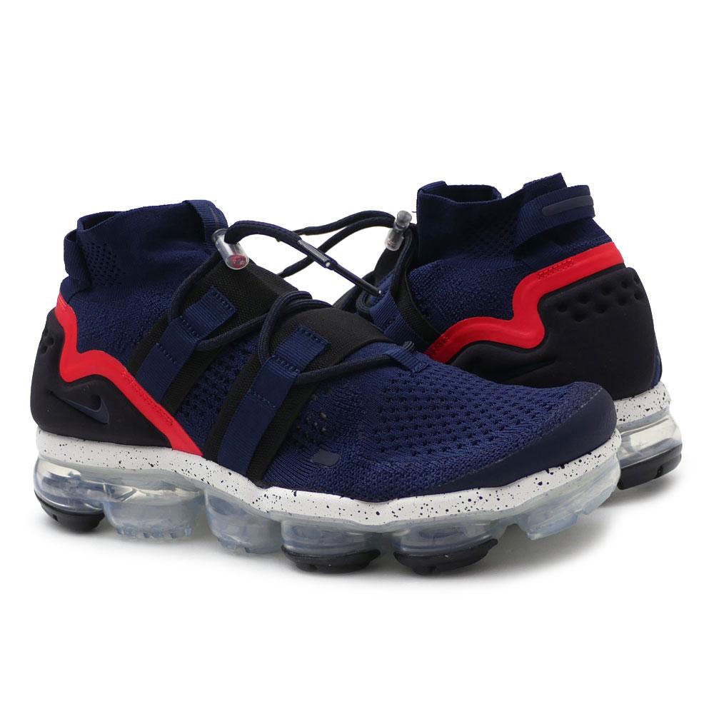 メンズ靴, スニーカー  NIKE AIR VAPORMAX FK UTILITY COLLEGE NAVYBLACKHABANERO RED AH6834406 420000140297