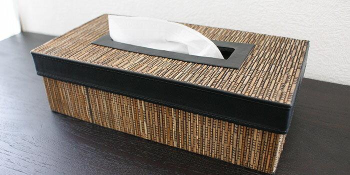 パームリディ ティッシュケース おしゃれ インテリア アジアン雑貨 ティッシュボックス バリ 和風 リゾート