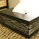 チーク ティッシュケース ブラックウォッシュ おしゃれ 北欧 アジアン バリ インテリア アジアン雑貨 天然木 木製 ティッシュボックス