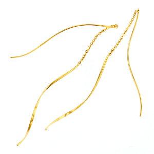 ピアスK14ゴールドフィルド14k女性誕生日記念日プレゼントギフトサプライズかわいいシンプルBLOOMブルーム