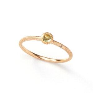 【送料無料】K10イエローゴールドペリドットリング【8月誕生石】10金10kダイヤモンドシンプル一粒指輪ギフトプレゼント女性大人レディース