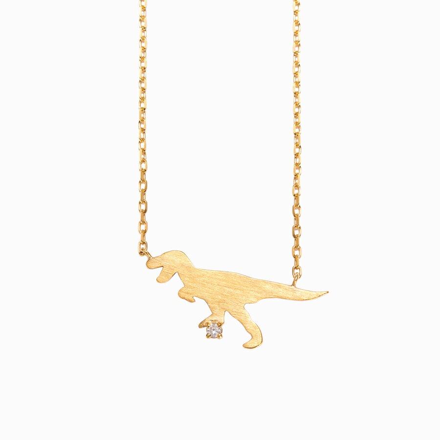 ネックレス レディース ダイヤモンド シルバー ティラノサウルス 【 BLOOM ブルーム 】 卒業祝 入学祝