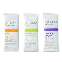 紙おしぼりタオルVBアロマプレミアム30本パック/アロマオイルオイル配合のペーパータオル/3種類の香り:ラベンダー、シトラール、ペパーミント