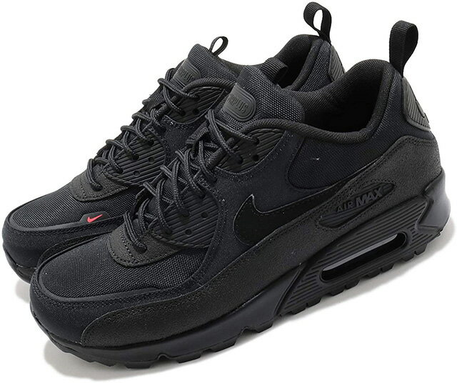 メンズ靴, スニーカー NIKE AIR MAX 90 SURPLUS 90 BLACKBLACK-INFRARED80