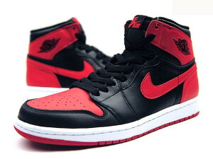NIKE AIR JORDAN 1 RETRO HIGH OG BLACK/VARSITY RED-WHITE  ナイキ エア ジョーダン 1 レトロ ハイ OG 黒赤