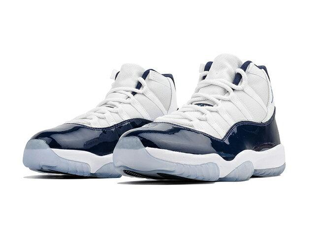 メンズ靴, スニーカー NIKE AIR JORDAN 11 RETROWIN LIKE 82 11 XI WHITEUNIVERSITY BLUE-MIDNIGHT NAVY
