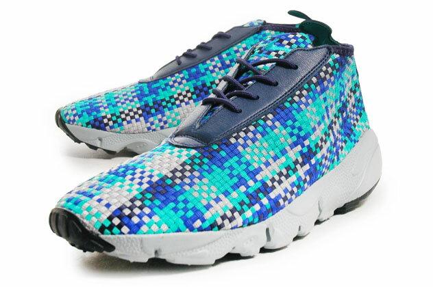 レディース靴, スニーカー NIKE AIR FOOTSCAPE DESERT CHUKKA NVYSAXBLUGRY