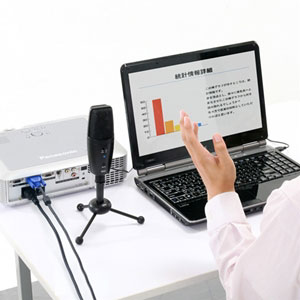 WEB会議マイク(高集音・USB接続・全指向性&単一指向性)
