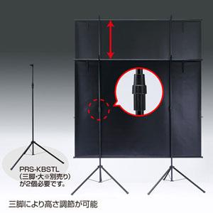 【訳あり_新品】プロジェクタースクリーン壁掛け式(アスペクト比4:3・100型相当)_※箱にキズ、汚れあり