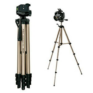 【サンワサプライ】【DG-CAM10】カメラ三脚 小型 4段タイプ (デジタル一眼レフカメラ&ビデオカメラ対応)