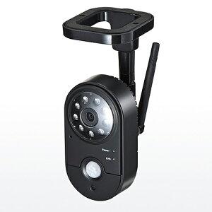 防犯カメラ&モニターセット(ワイヤレス・2台カメラセット・SDカード&USBメモリ録画対応)