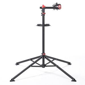 自転車メンテナンススタンド(ワークスタンド・ディスプレイスタンド・118~200cm・工具トレー付)