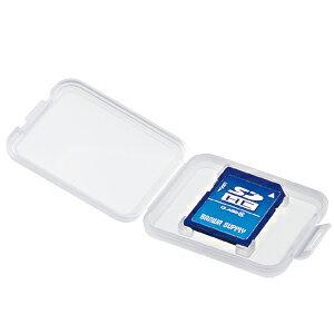【訳あり 新品】SDカード用クリアケース FC-MMC10SD サンワサプライ ※箱にキズ、汚れあり【ネコポス対応】