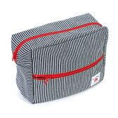 ベティスミス おむつポーチ(ヒッコリー・ブラック×ホワイト系)Eco Betty 出産祝い プレゼント  KOMO-222-01-2 【ネコポス対応】