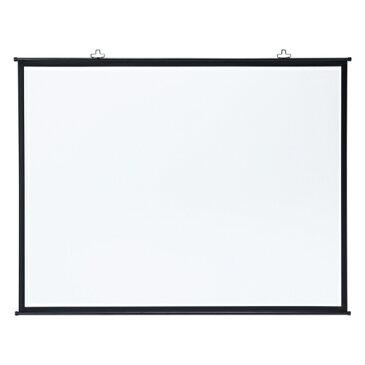 プロジェクタースクリーン壁掛け式(アスペクト比4:3・100型相当) PRS-KB100 サンワサプライ【送料無料】