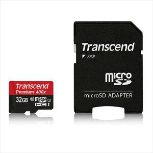 Transcend_microSDHCカード_32GB_Class10_UHS-1対応_400x_SDカード変換アダプタ付_TS32GUSDU1P
