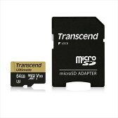 Transcend microSDXCカード 64GB Class10 UHS-I U3 V30対応 U3Mシリーズ TS64GUSDU3M【ネコポス対応】【送料無料】