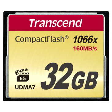 Transcend トランセンド ジャパン コンパクトフラッシュカード 32GB 1000倍速 TS32GCF1000