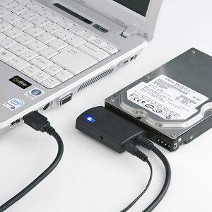 【サンワサプライ】USB-CVIDE3SATA-USB3.0変換ケーブル(HDD&SSD対応) USB-CVIDE3 サンワサプ...