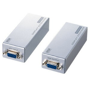 サンワサプライ AVエクステンダー VGA-EXAVL8