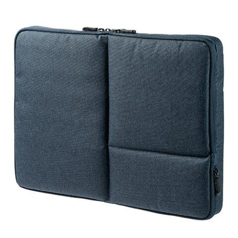 PCインナーケース(15.6インチ対応・両面収納・インナーバッグ・Surface Book2/Surface Laptop対応・ネイビー) 200-IN051NV