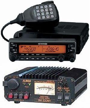 TM-V71&DM-330MVケンウッド アマチュア無線機&スイッチング電源
