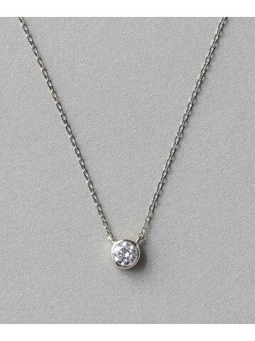 [Rakuten Fashion]PT900ダイヤモンド0.2ctネックレス「ブライト」 ete エテ アクセサリー ネックレス【送料無料】