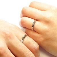 ペアリング結婚指輪マリッジリングダイヤモンドリングダイヤリングカーブウェーブセットリングプラチナ900pt900ブライダル指輪【送料無料】05P24Feb14