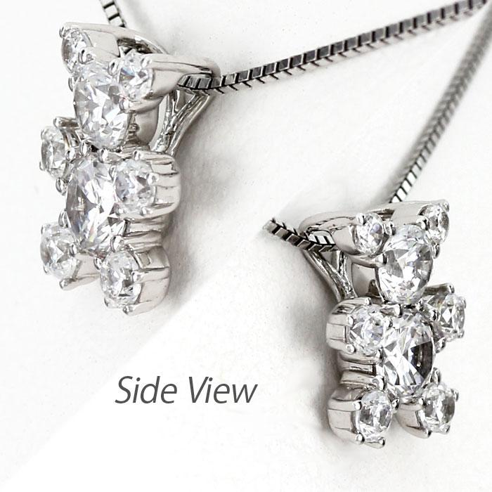 ダイヤモンド ネックレス 18k ペンダント レディース クマ 熊 ベアー 動物 アニマル ゴールド k18 18金