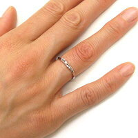 ダイヤモンドリングスレンダーシンプルpt900プラチナ指輪【送料無料】